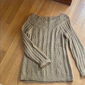 Women's Tan Sweater
